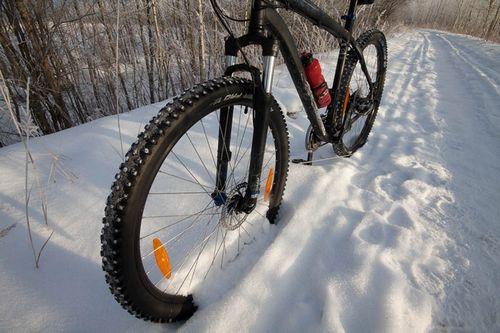 Зимняя «резина» для велосипеда