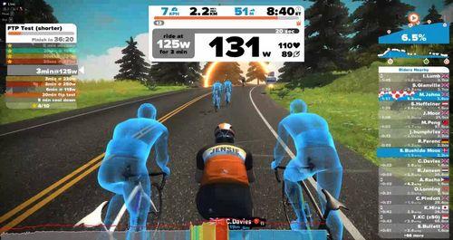 Zwift — велосипедная виртуальная реальность